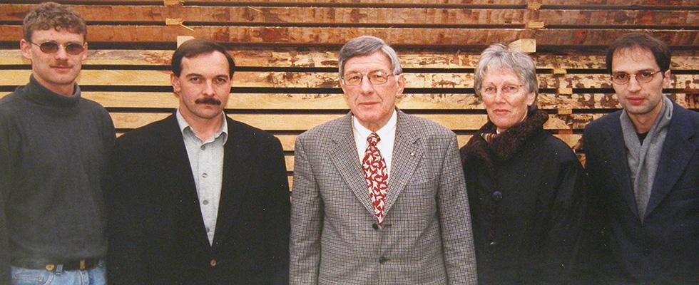 1998: Thomas Jutz, Hubert Bereuter Und Maurice Nussbaumer übernehmen Die A. Bründler AG