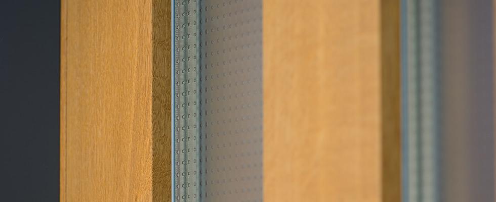 Isolierverglasung Mit ESG Mastercarre-Glas